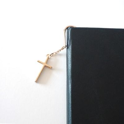 십자가 도금 책갈피(각인 가능)