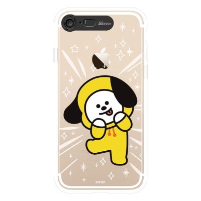BT21 iPhone8 /7 치미 클리어 라이팅 케이스 (SOFT)