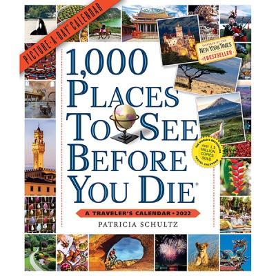 2022 캘린더 1000 Places to See Before You Die