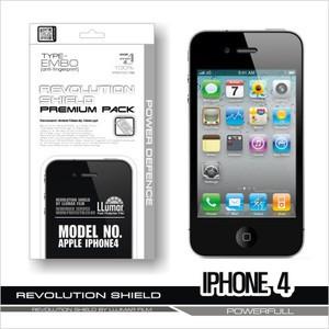 [프로텍트엠/PROTECTM] 애플 아이폰4/iPhone4 레볼루션쉴드 엠보 전신보호필름+액정보호필름