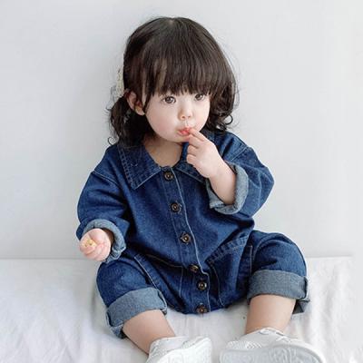 데님 올인원 유아 우주복(3-36개월) 204090