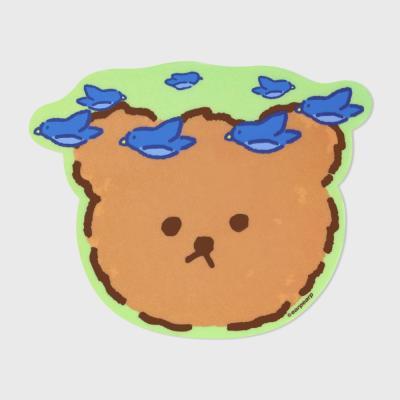 Blue bird bear(마우스패드)