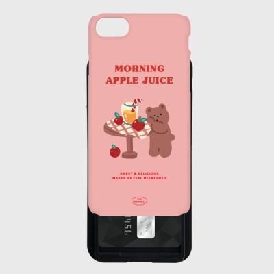 pink gummy apple juice 카드슬라이드 케이스