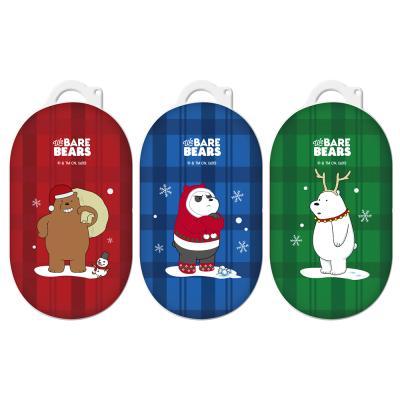 위베어베어스 크리스마스 코스튬 버즈 하드케이스