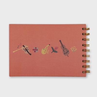 We Love Music Sketch Book