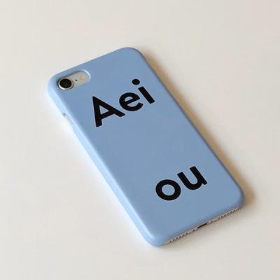 아에이오우 아이폰케이스_Aeiou Blueberry Soda
