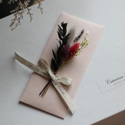 프리저브드꽃 명절축하시즌 상품권돈봉투(핑크)