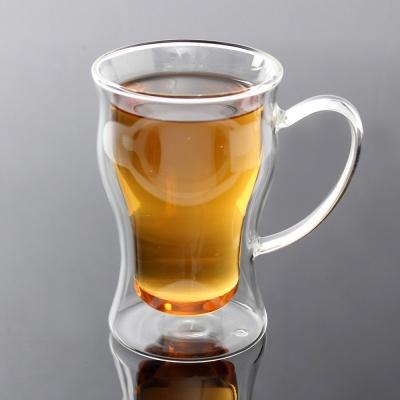 [로하티]브리앙 이중 유리컵/ 홈카페 주스잔