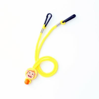 키즈 동물 캐릭터 마스크 스트랩 - 옐로우(Yellow)