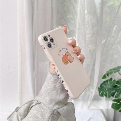 아이폰12/PRO/11/SE2/X/8/7 카메라보호 실리콘 케이스