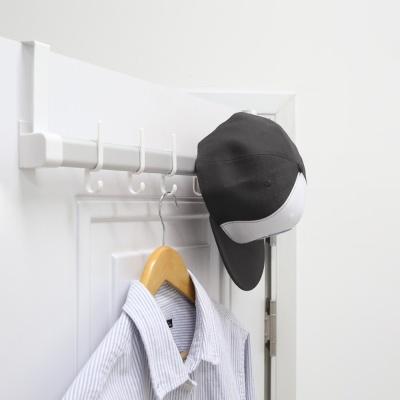 다용도 무타공 문걸이행거 후크 모자걸이 벽옷걸이