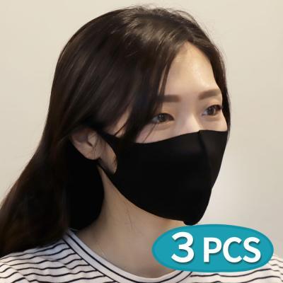 3D 패션 면 연예인마스크 3개입 세트