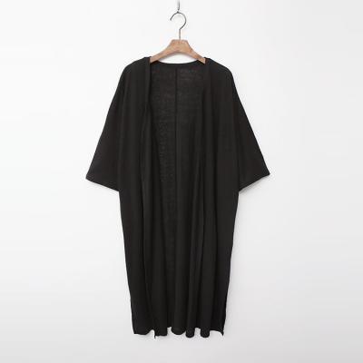 Linen Cotton Long Robe Cardigan