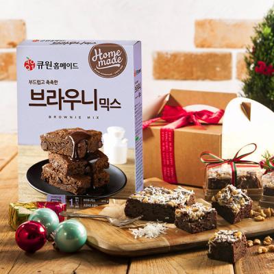 크리스마스 브라우니 DIY세트 (믹스,계량컵포함)