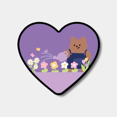 [하트톡♥] purple flower bed