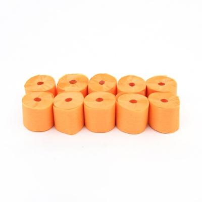 에어샷용 종이 릴테잎-10개입(오렌지)