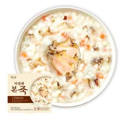 (본죽/무료배송)아침엔본죽 전복버섯죽 270g x 7개