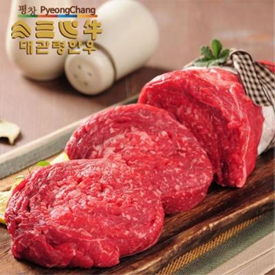 [HAPPY700] 대관령 한우 불고기 1kg(1등급이상)