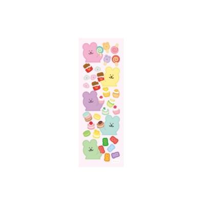 [한톨상점]반곰이의 디저트자랑 씰스티커