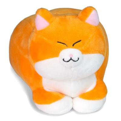 식빵뚱냥 아기 고양이 인형 - 치즈