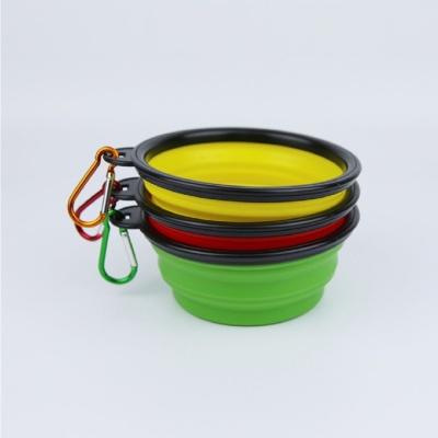 휴대용사료통 접이식강아지밥그릇 간식 (랜덤발송)