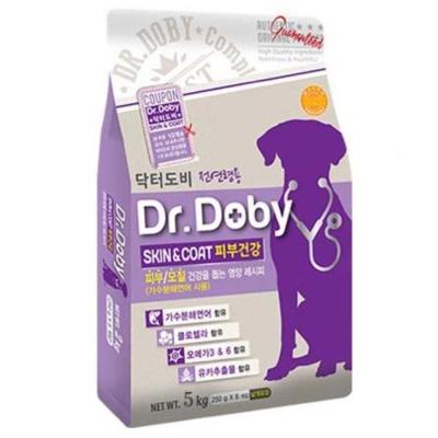 피부건강 개 사료 스킨앤코트 5kg 강아지사료샘플