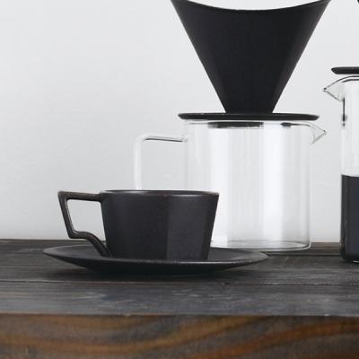 킨토 OCT 커피잔세트 300ml (블랙)