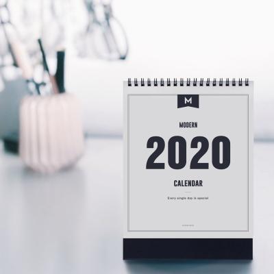 2020 MODERN DESK CALENDAR