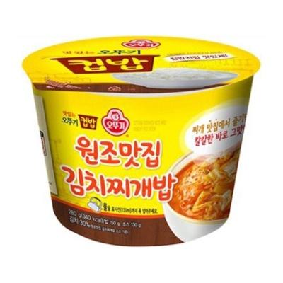 오뚜기)컵밥(원조맛집김치찌개밥/12개입)W55E2D1