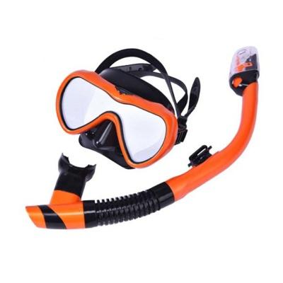 아로마 고급형 잠수경 스노클링 세트(AM101/AS500) (
