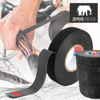 코끼리테이프 자동차 차량용 부직포 흡음 테이프