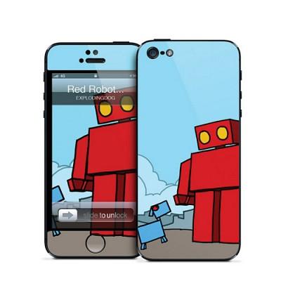 [Gelaskin] 겔라스킨 아이폰5 / RED ROBOT