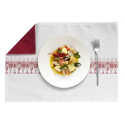 레스토랑 카페 주방 신혼 린넨 테이블 매트 청어