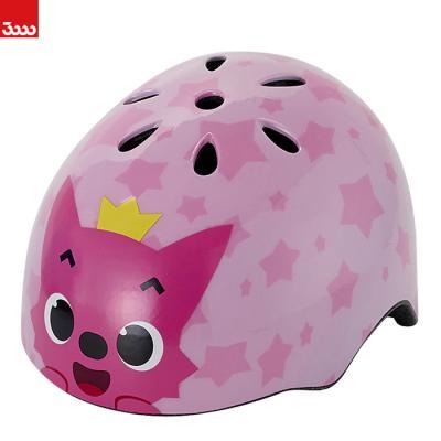 [삼천리]SH110L 핑크퐁 아기상어 어린이 헬멧_핑크