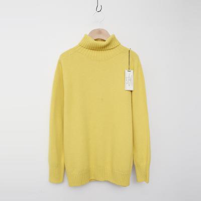 Laine Raccoon Wool Turtleneck Sweater