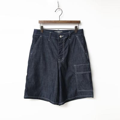 Indigo Denim Pocket Shorts