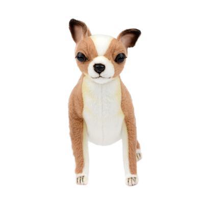 7458 치와와 강아지동물인형 24cm.L