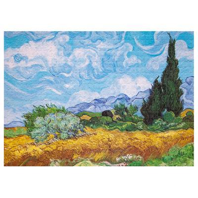 아이엠미니 직소퍼즐 1000피스_삼나무가 있는 밀밭