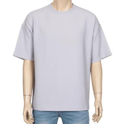 남성 여성 여름 데일리 반팔 티셔츠 베이그 박스핏
