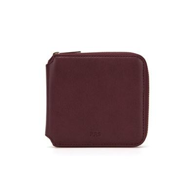 PFS Zipper Wallet 002 Wine