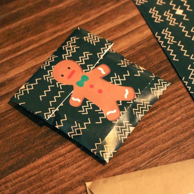 꾸꾸 스티커 - 크리스마스 ver.