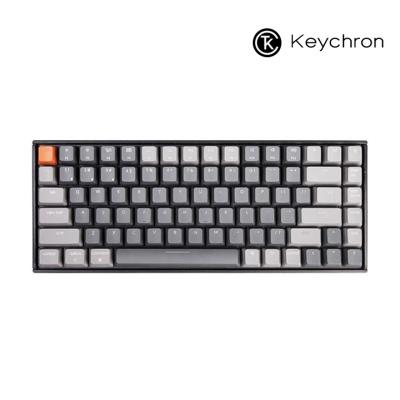 Keychron 게이밍 84키 기계식키보드 RGB 다크그레이