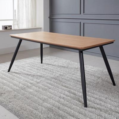 토바 무늬목 식탁 테이블 1600