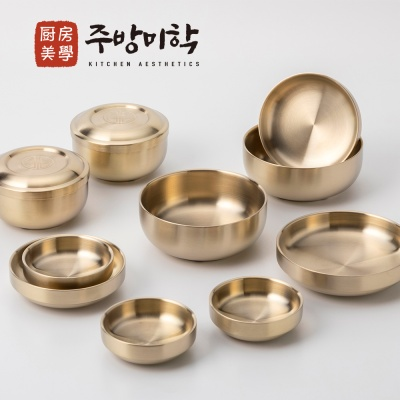 [주방미학] 2중 진공구조 티타늄 반상기 2인세트