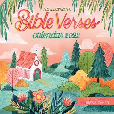 2022 캘린더 The Illustrated Bible Verses