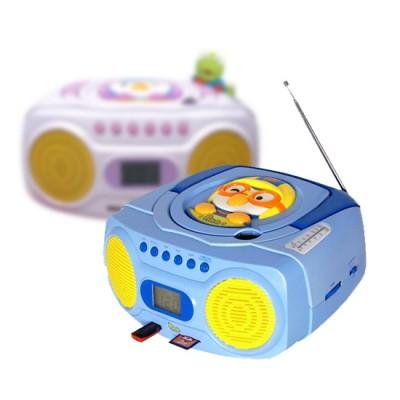 [피규어 랜덤증정] 뽀로로 CD플레이어 UIP-902/UIP-903 CD카세트/MP3/라디오/USB음악재생/포터블카세트