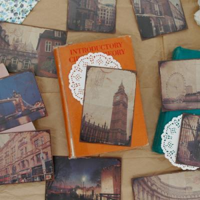 웰컴투 런던 포스트카드 10P세트