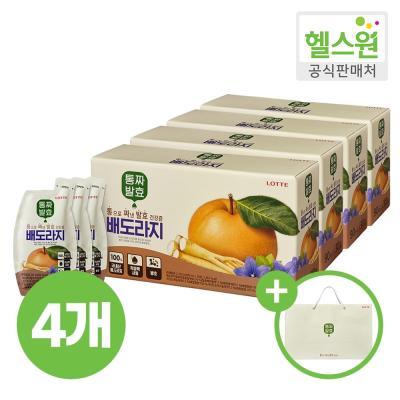 [헬스원] 통짜발효 배도라지 30포 30일분 x4개