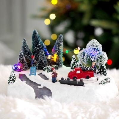 크리스마스 LED 오르골(트리사세요)