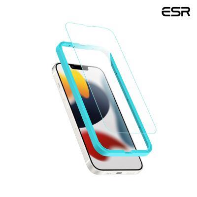 ESR 아이폰13프로 가이드 풀커버 강화유리필름